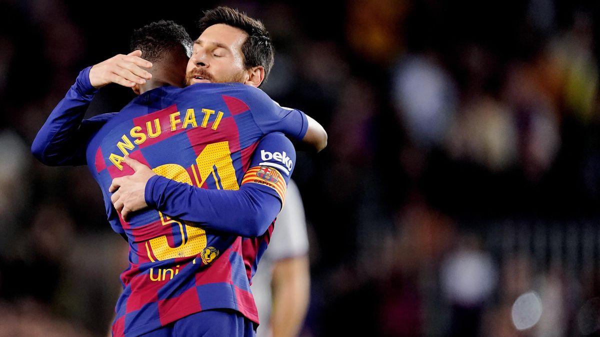 Ansu Fati se anunță urmașul lui Messi la Barcelona