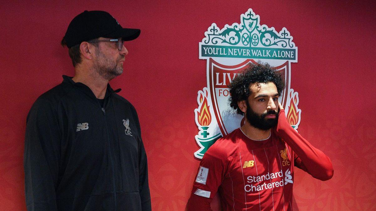 Jurgen Klopp & Mohamed Salah