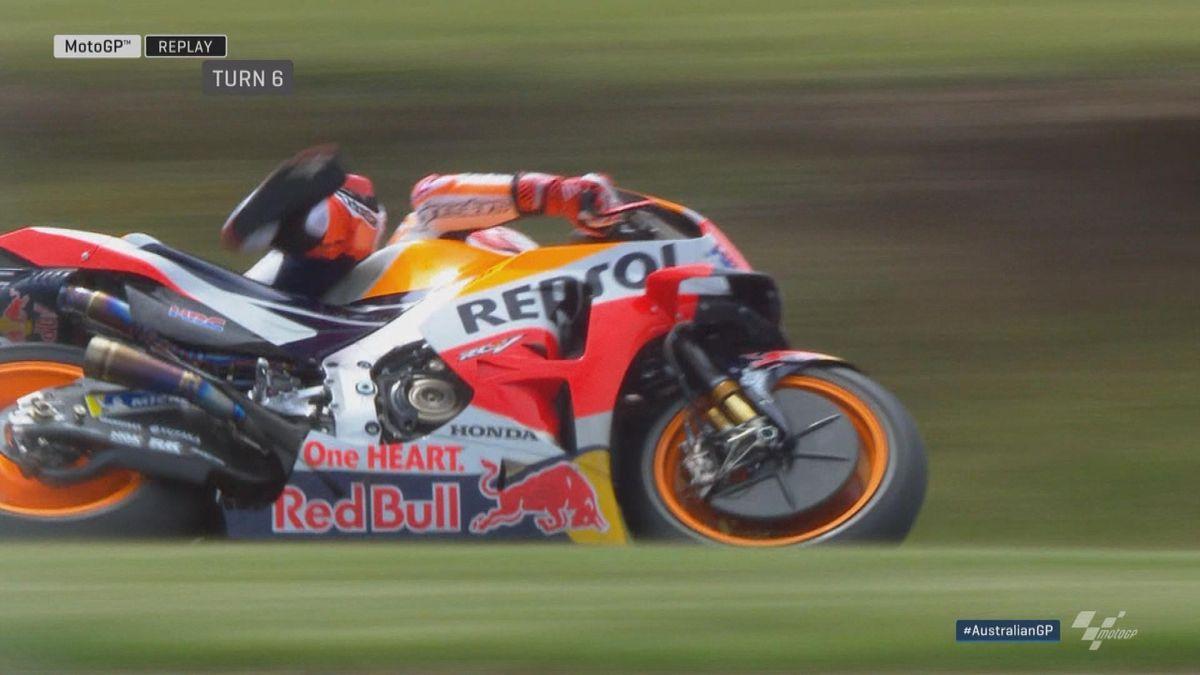 Australian GP - MotoGP - Marquez special save
