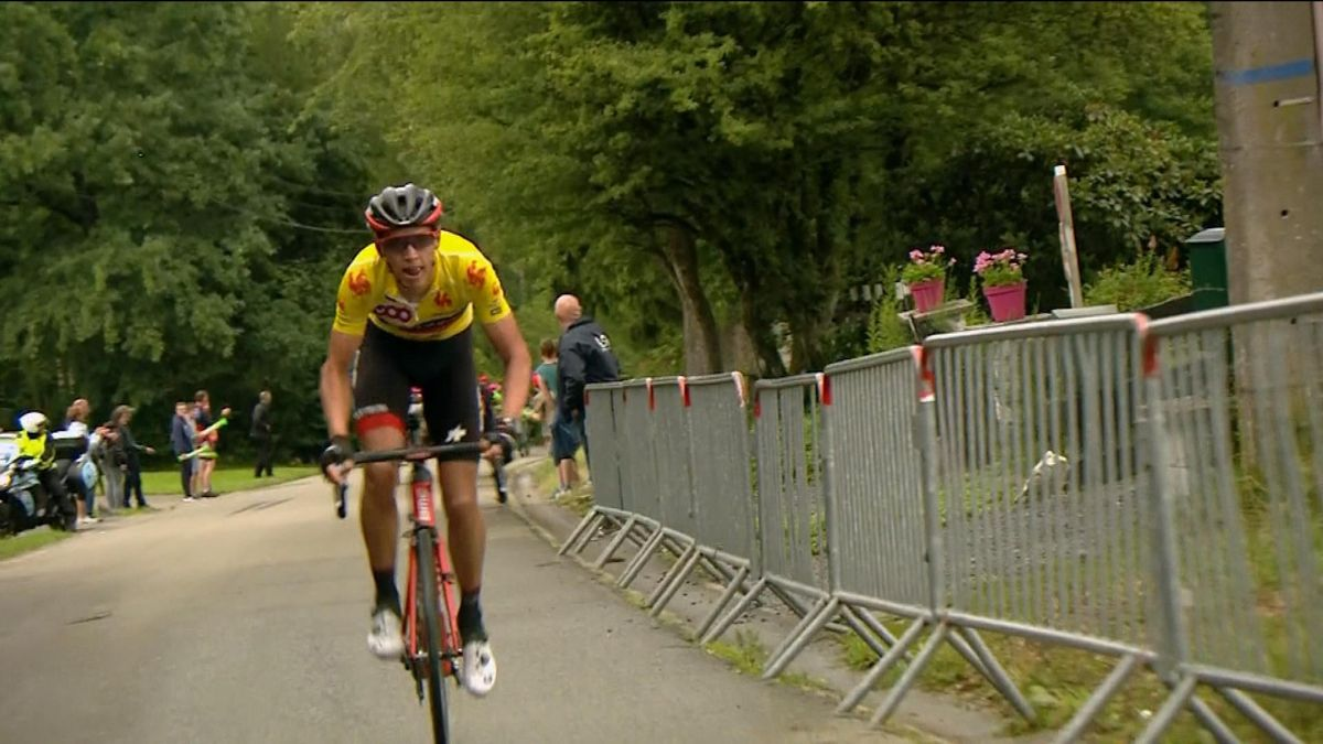 Tour of Wallonie Stage 3 Finish