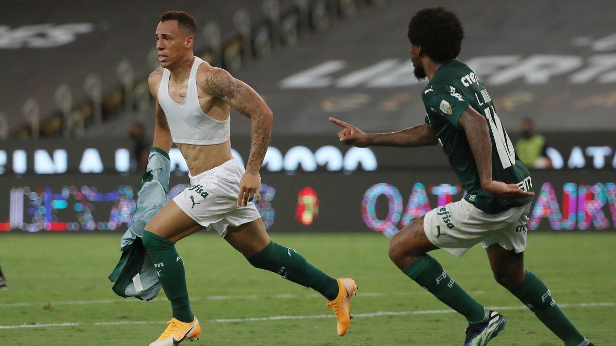Breno Lopes (links; SE Palmeiras)