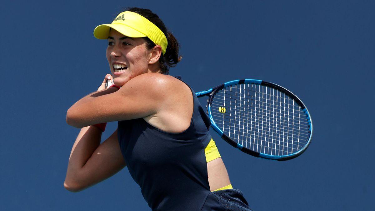 Garbiñe Muguruza en el WTA 1.000 de Miami