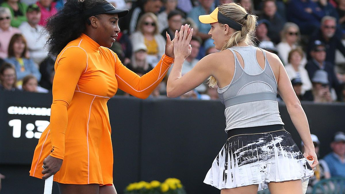 Serena Williams Caroline Wozniacki