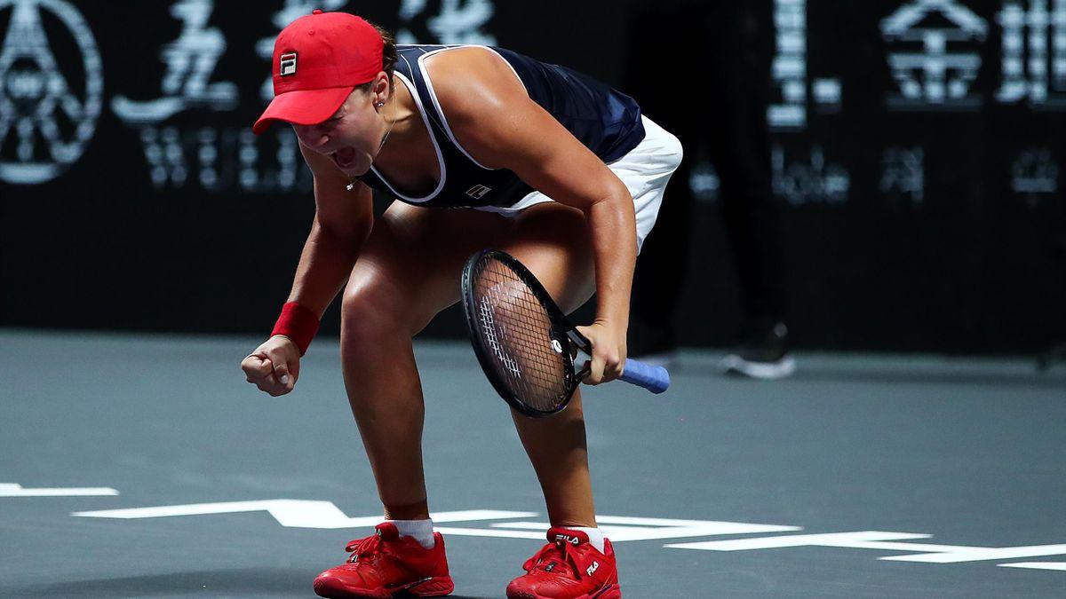 La gioia senza freni di Ashleigh Barty per il trionfo alle WTA Finals di Shenzhen