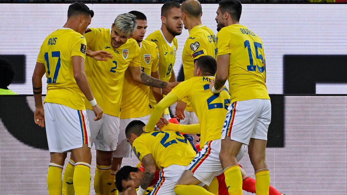 Bucuria 'tricolorilor' după golul lui Ianis Hagi
