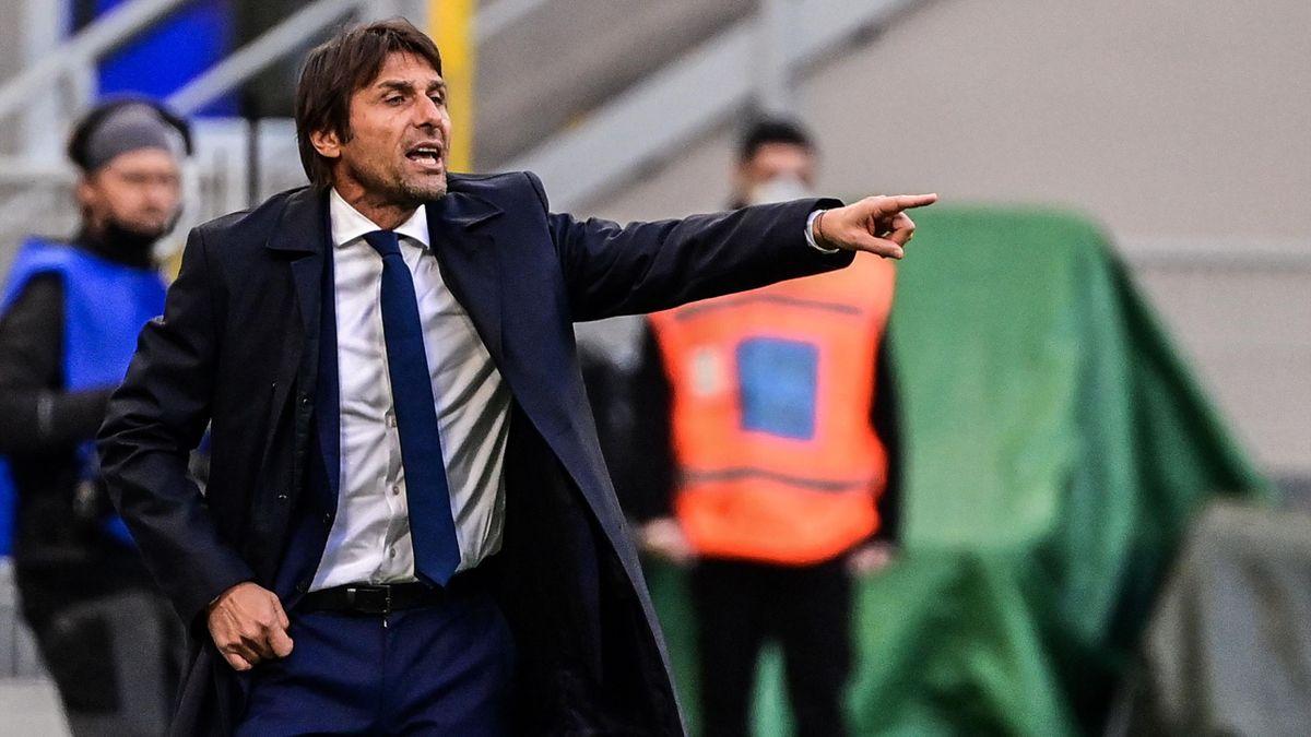 Antonio Conte in Inter-Torino
