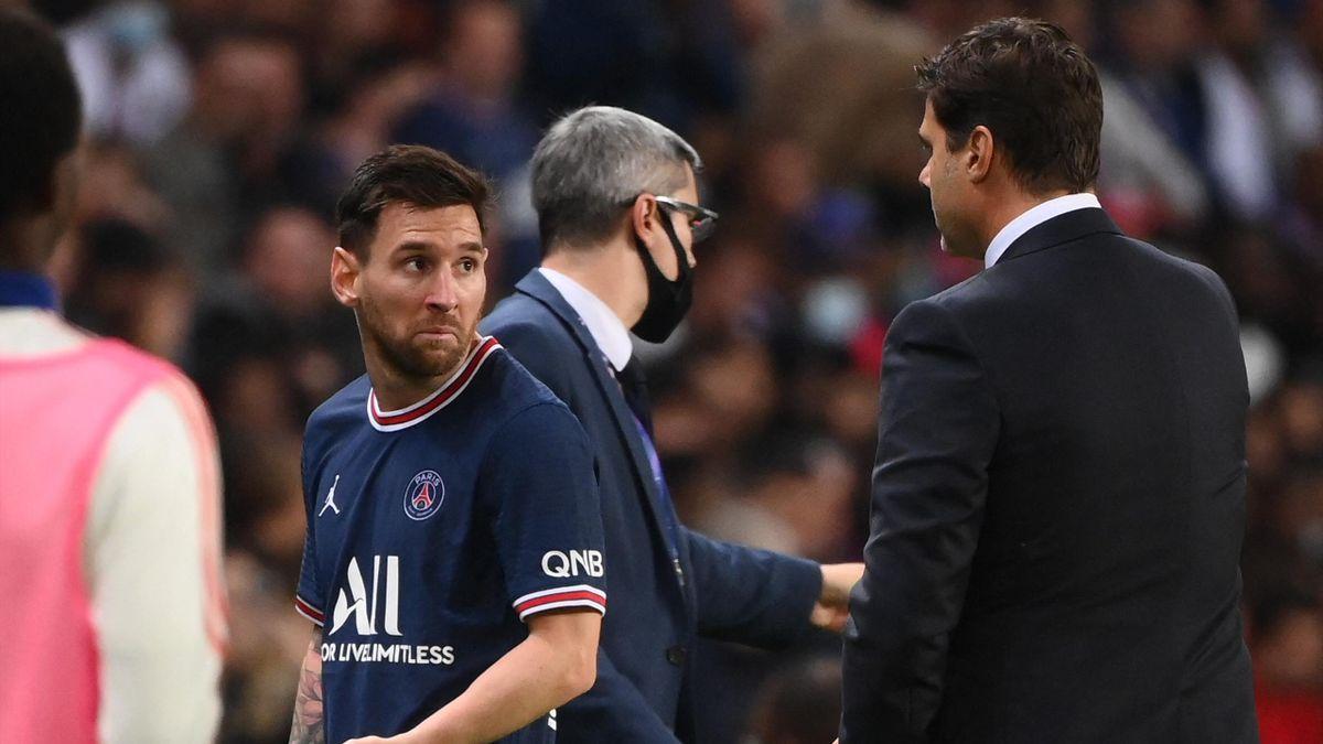 PSG-Lione, Messi-Pochettino
