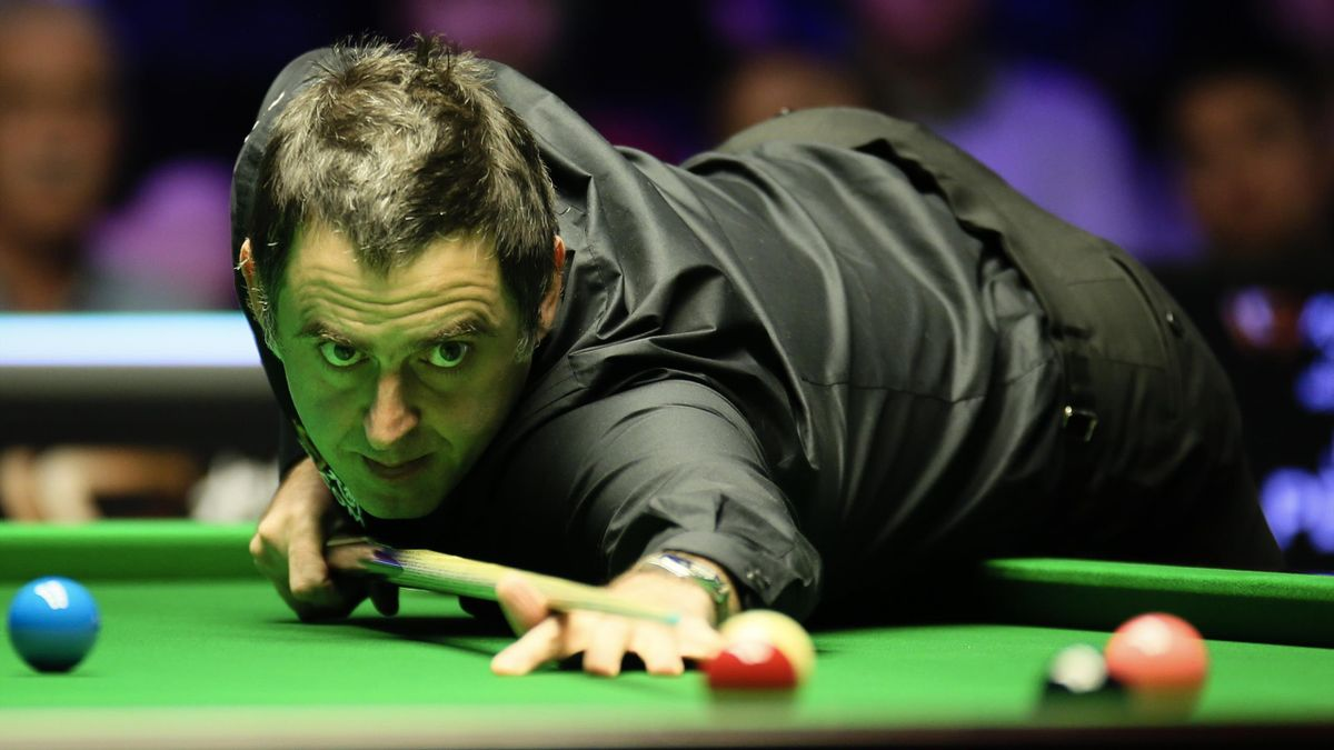 """Zeigte tolles Snooker in Belfast und kam bis ins Finale: """"The Rocket"""" Ronnie O'Sullivan"""