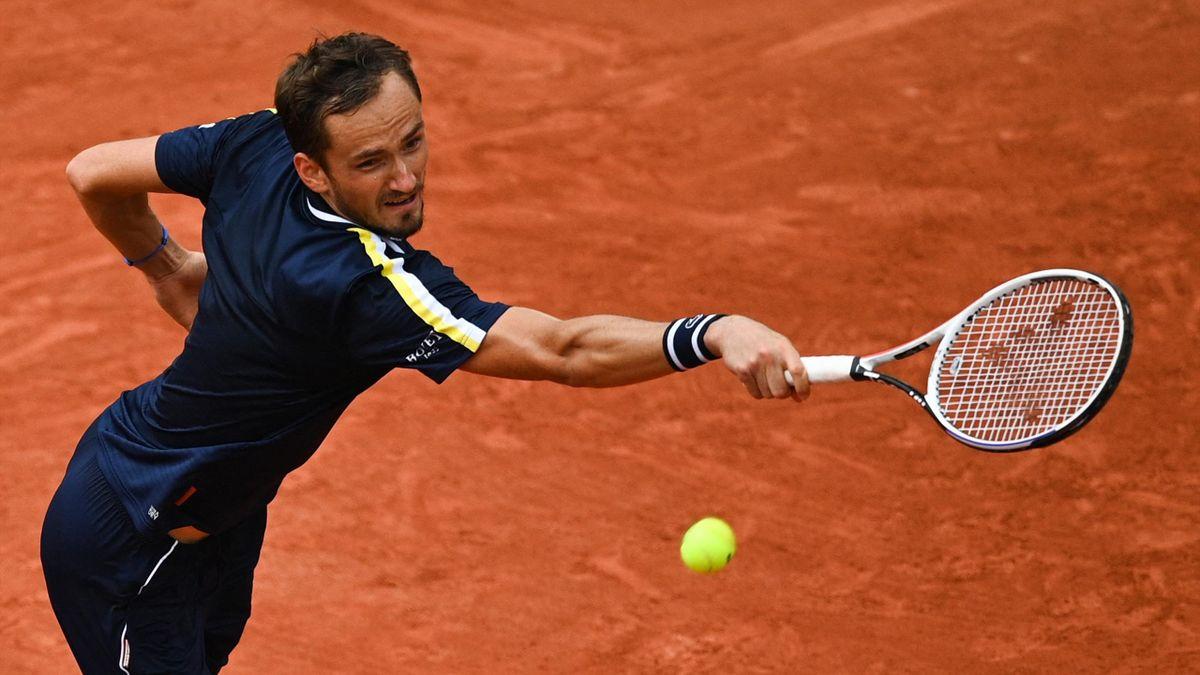 Daniil Medvedev in Roland-Garros 2021