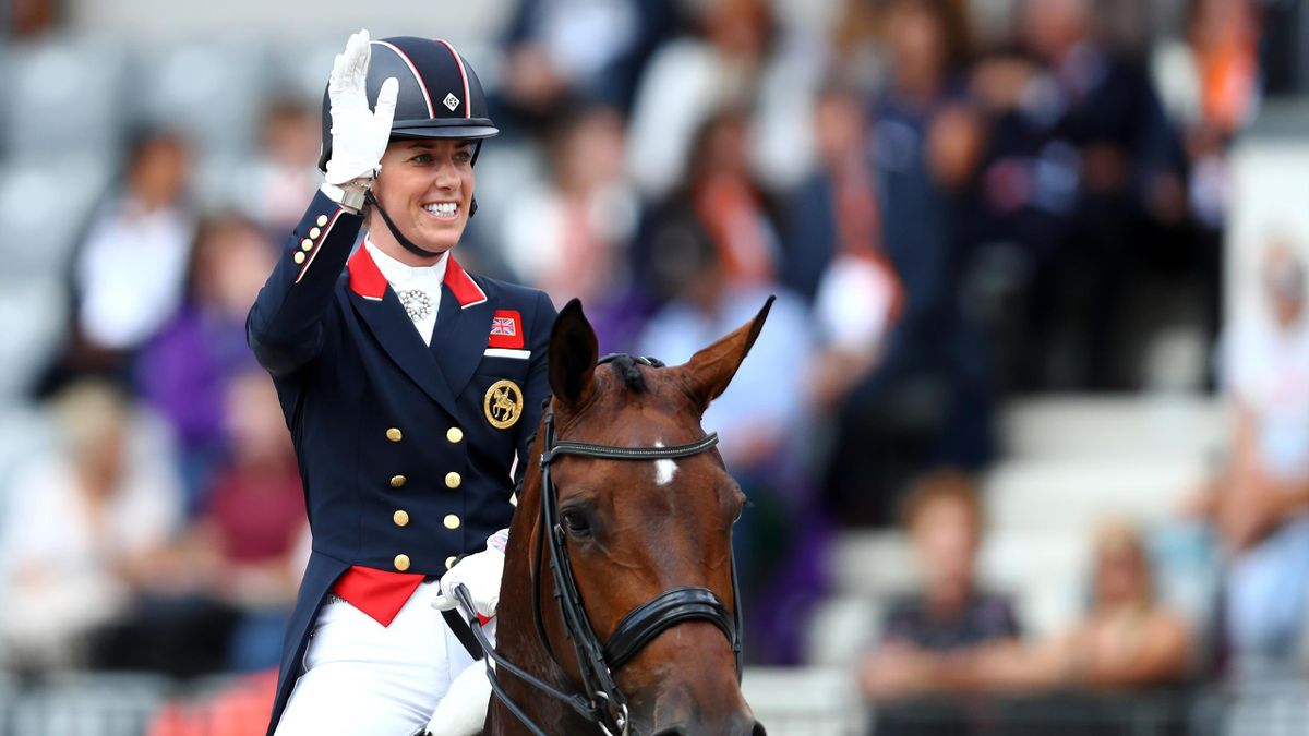 Charlotte Dujardin is going for a fourth Olympic gold