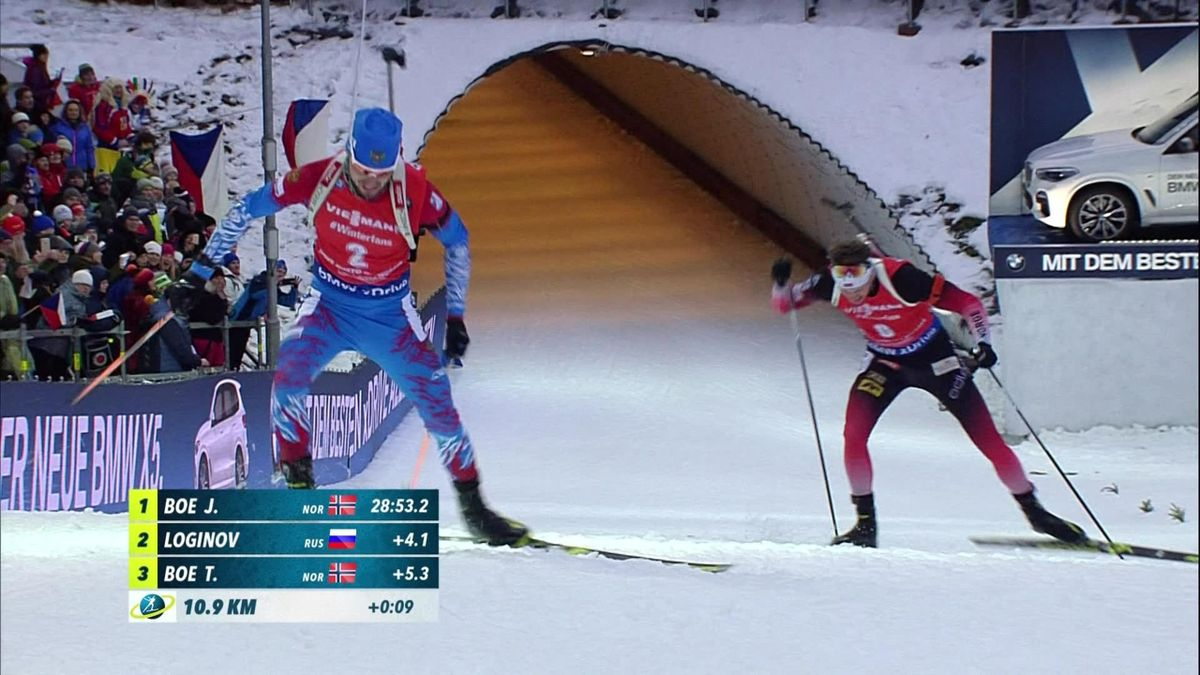 Biathlon 12Km Men : Highlights