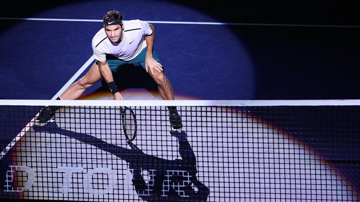 Roger Federer à Shanghaï