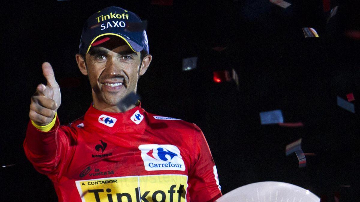"""Alberto Contador, alias """"El Pistolero"""", savoure son troisième Tour d'Espagne victorieux"""