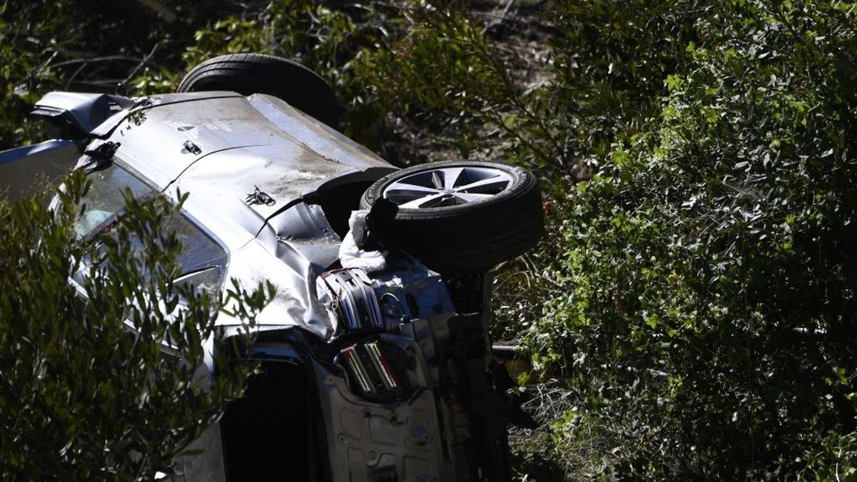 Tiger Woods car accident - 2021 - Getty Images
