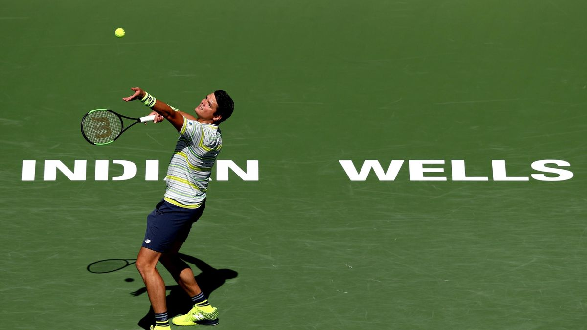 Milos Raonic triumphs at Indian Wells