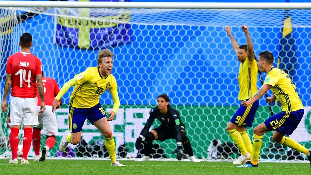 Emil Forsberg (Schweden vs. Schweiz)