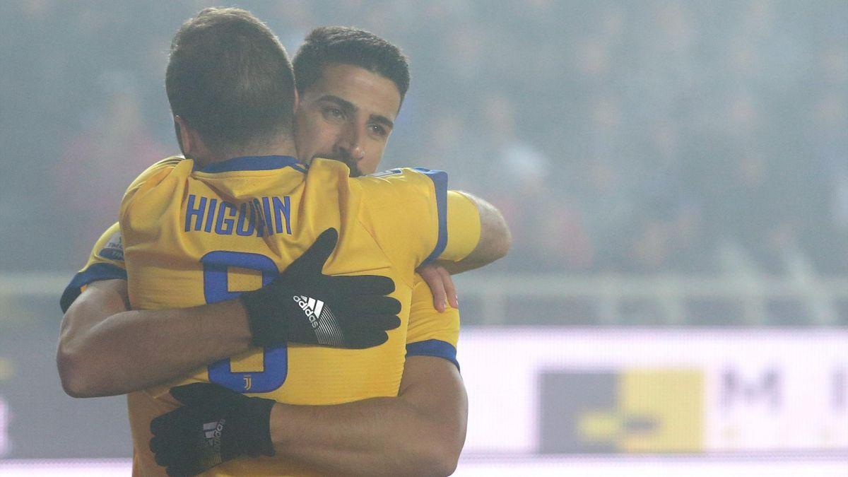 Atalanta-Juventus - Higuain - 2018