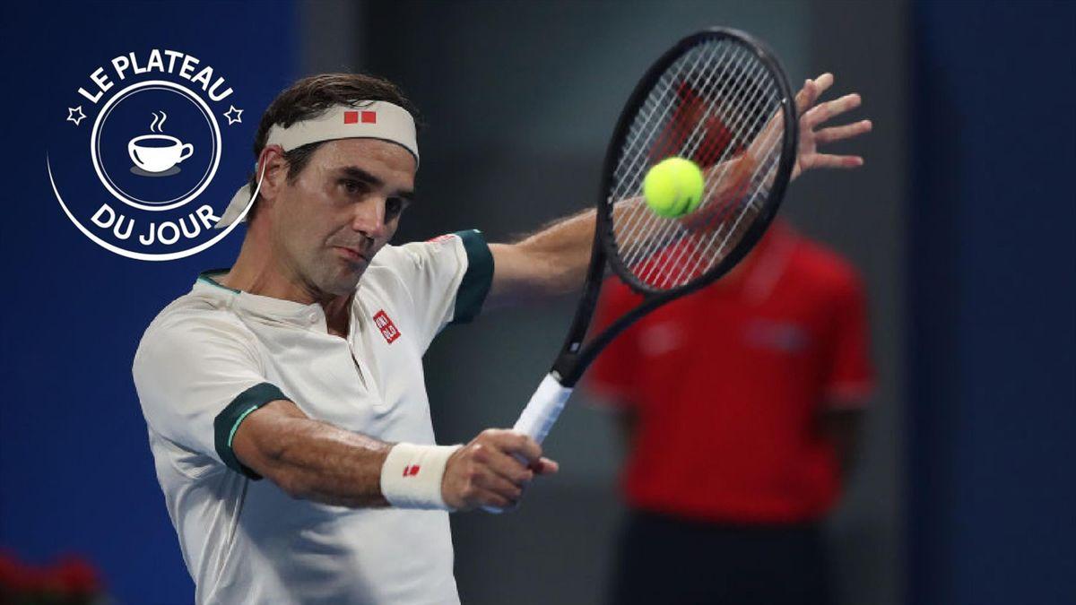 Roger Federer - L'actu sur un plateau du 12 mars 2021