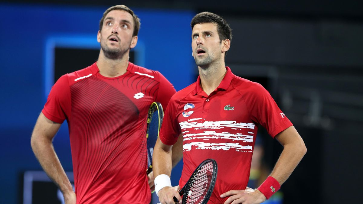 Viktor Troicki & Novak Djokovic