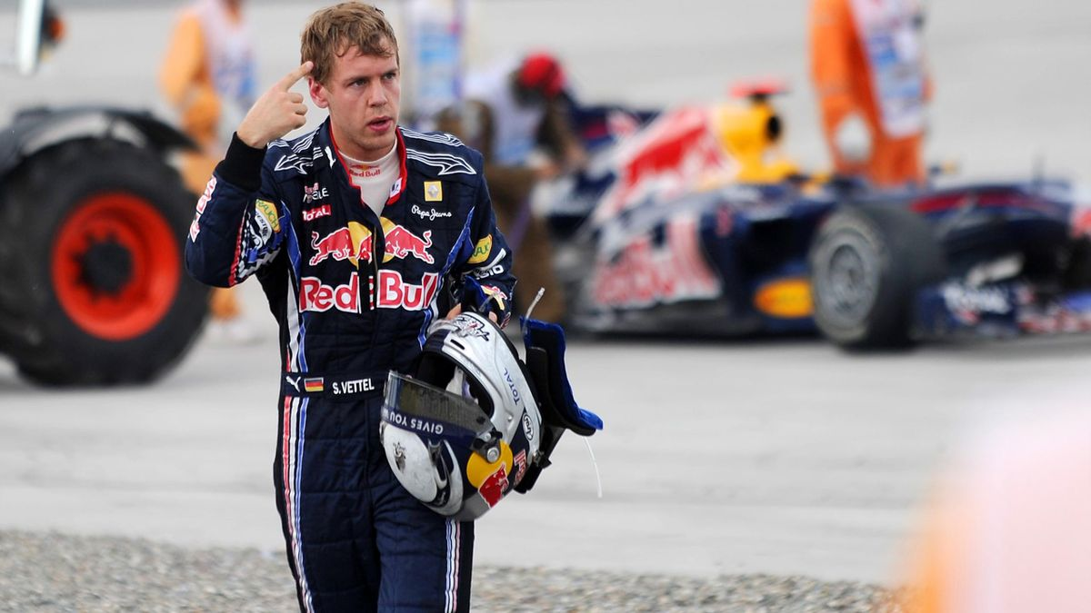 Sebastian Vettel Istanbul 2010