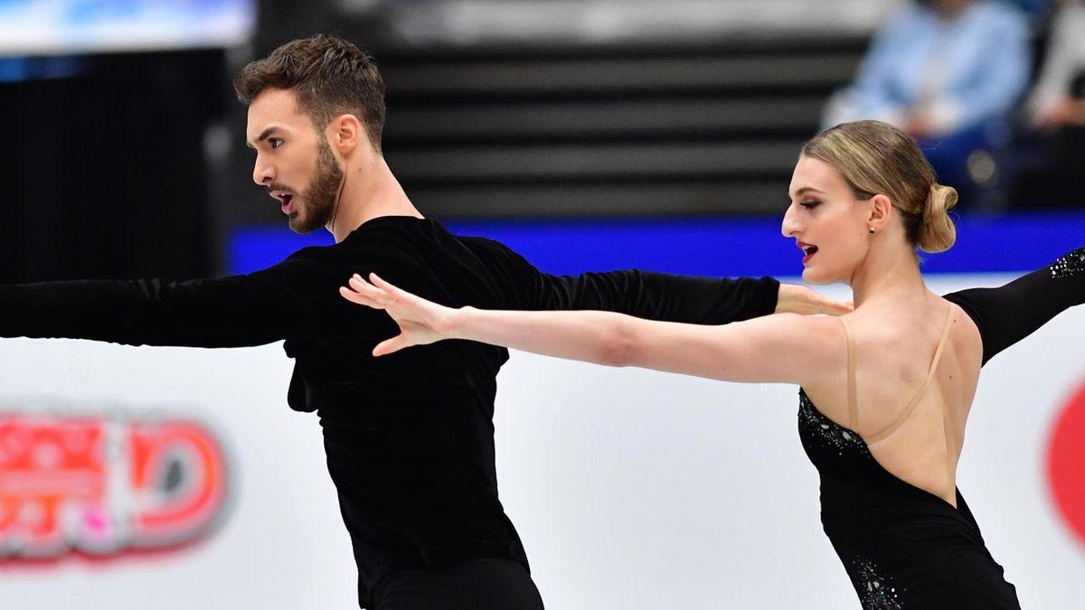 Gabriella Papadakis and Guillaume Cizeron