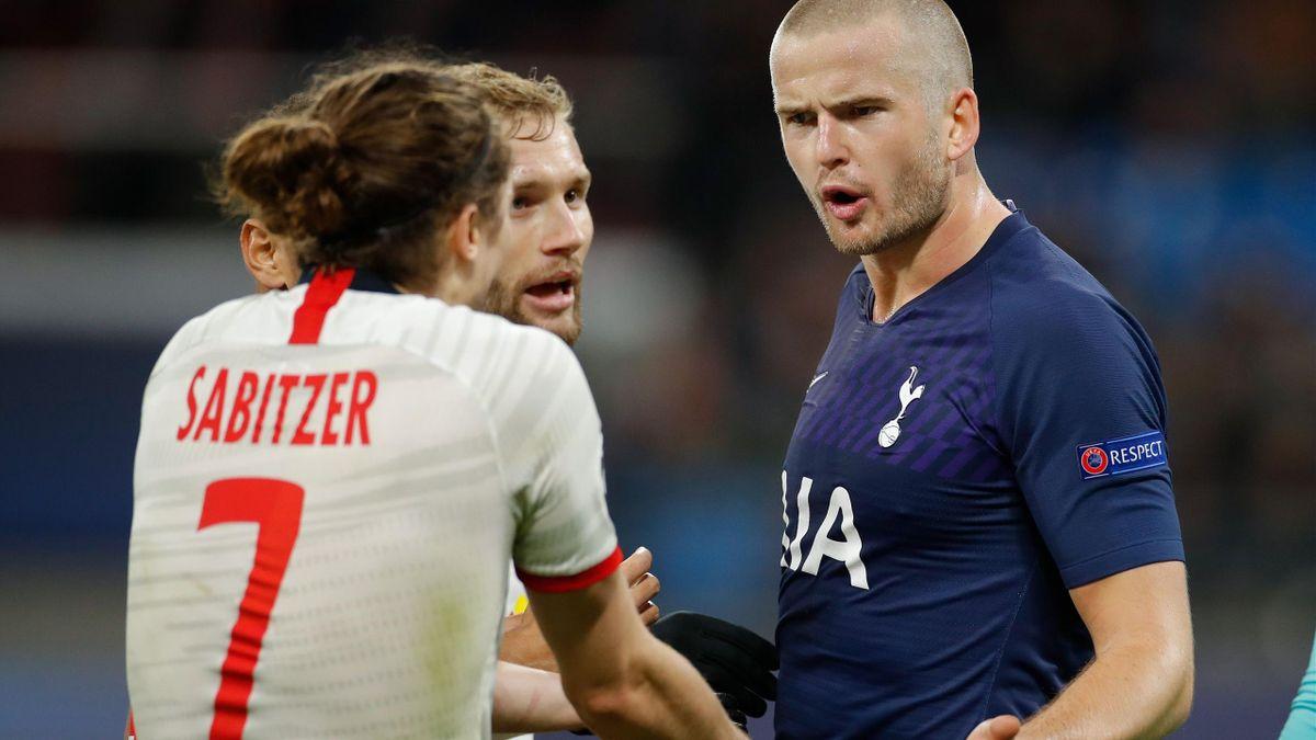 Marcel Sabitzer, Eric Dier | Leipzig v Tottenham