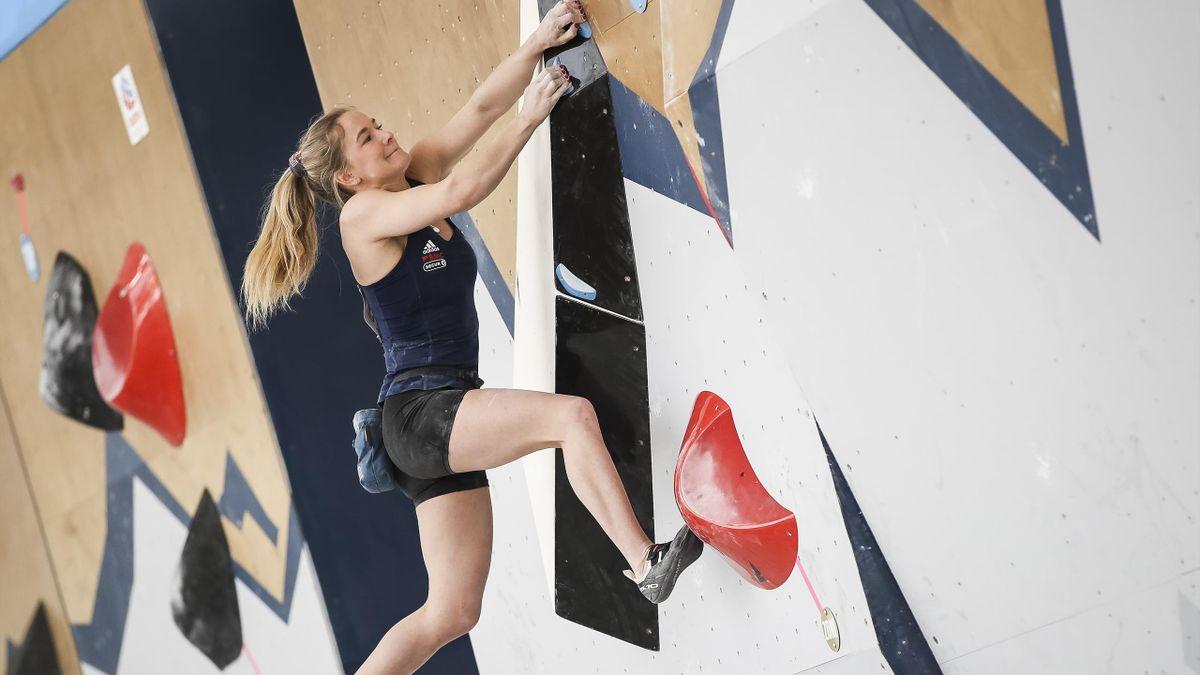 Shauna Coxsey will compete in sport climbing for Team GB