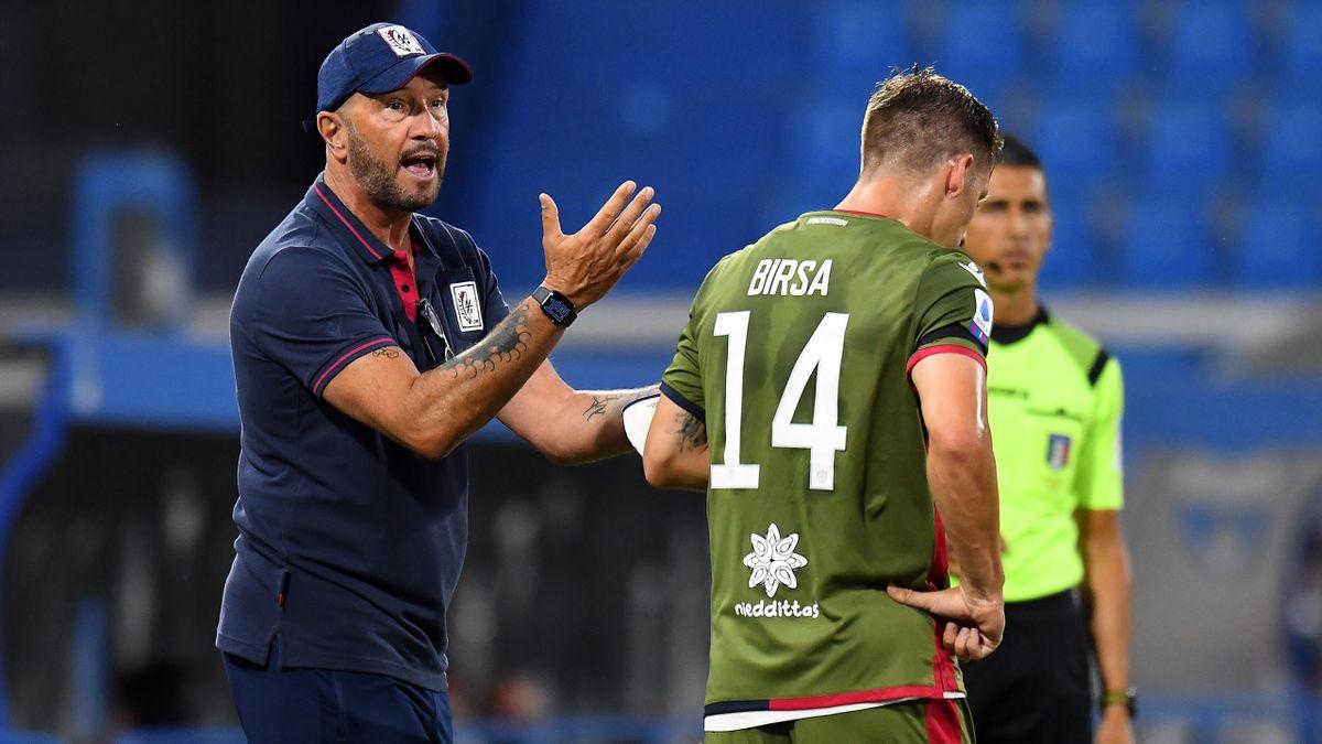 Walter Zenga, Birsa - SPAL-Cagliari - Serie A 2019/2020 - Getty Images