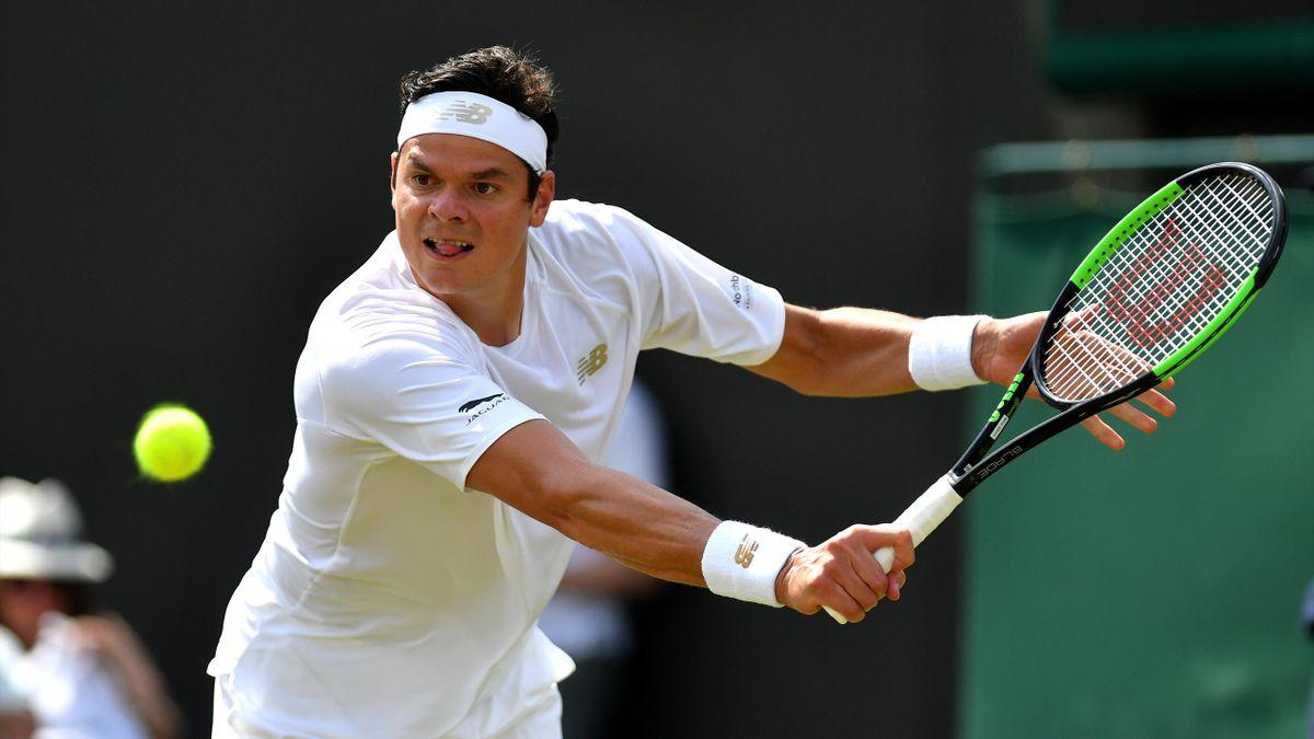 Milos Raonic - Wimbledon 2019
