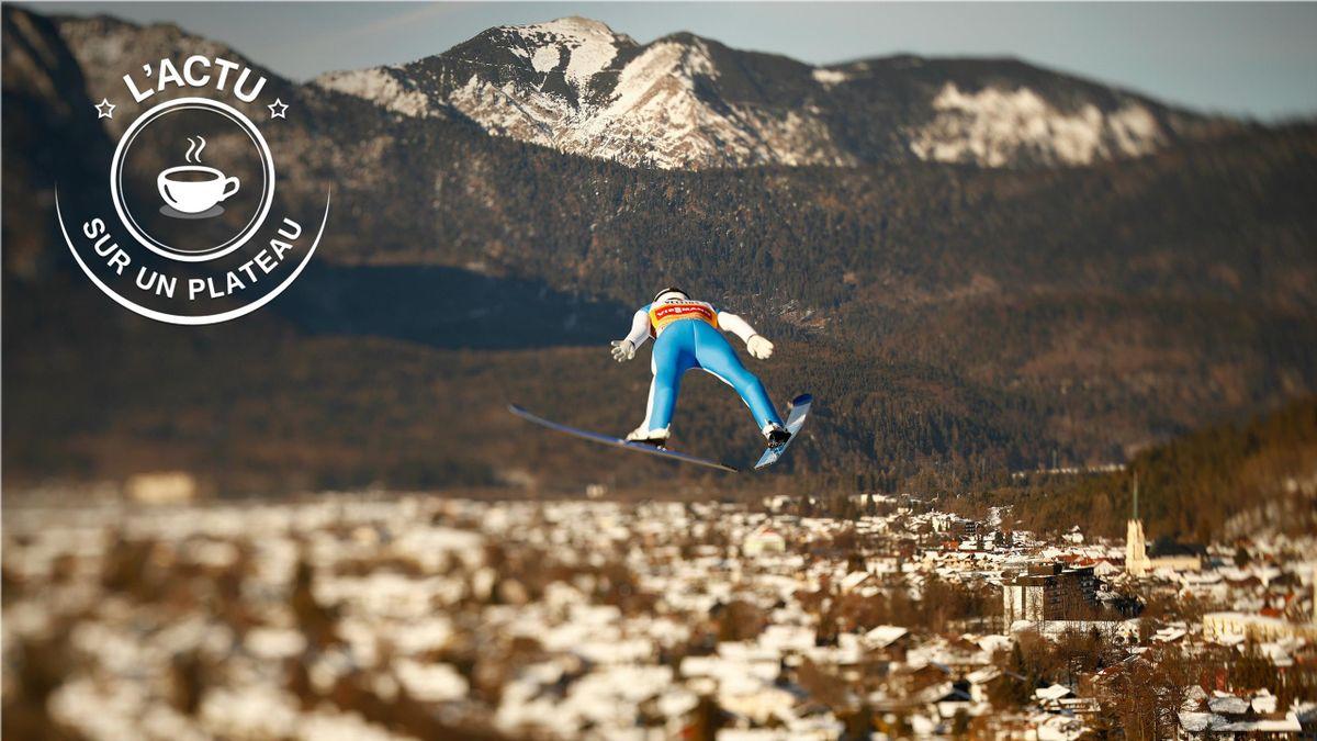 On vous propose une vue vertigineuse pour débuter l'année tel un sauteur à ski à l'oeuvre lors de la Tournée des 4 Tremplins