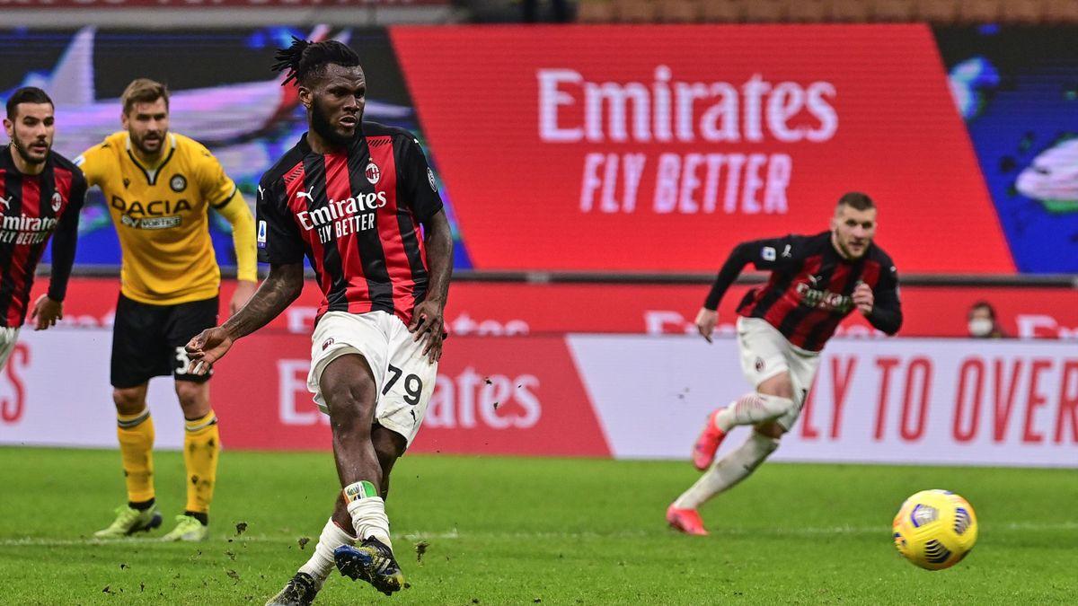 Franck Kessié, Milan-Udinese, Getty Images