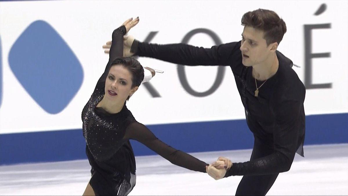 Figure Skating Grand Prix NHK Trophy - Free Pairs - Natalia Zabiiako and Alexander Enbert full performance