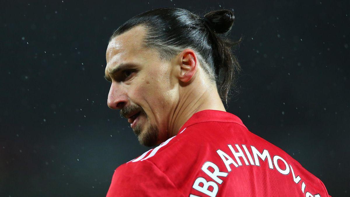 Zlatan Ibrahimovic von Manchester United