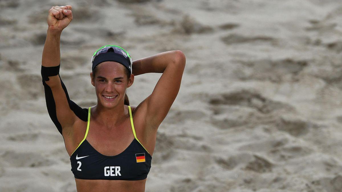 Beachvolleyball-Olympiasiegerin Kira Walkenhorst