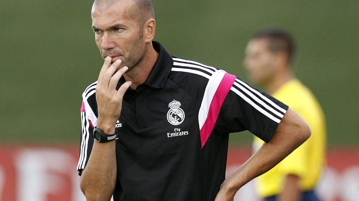 Zinedine Zidane bleibt vorerst gesperrt.