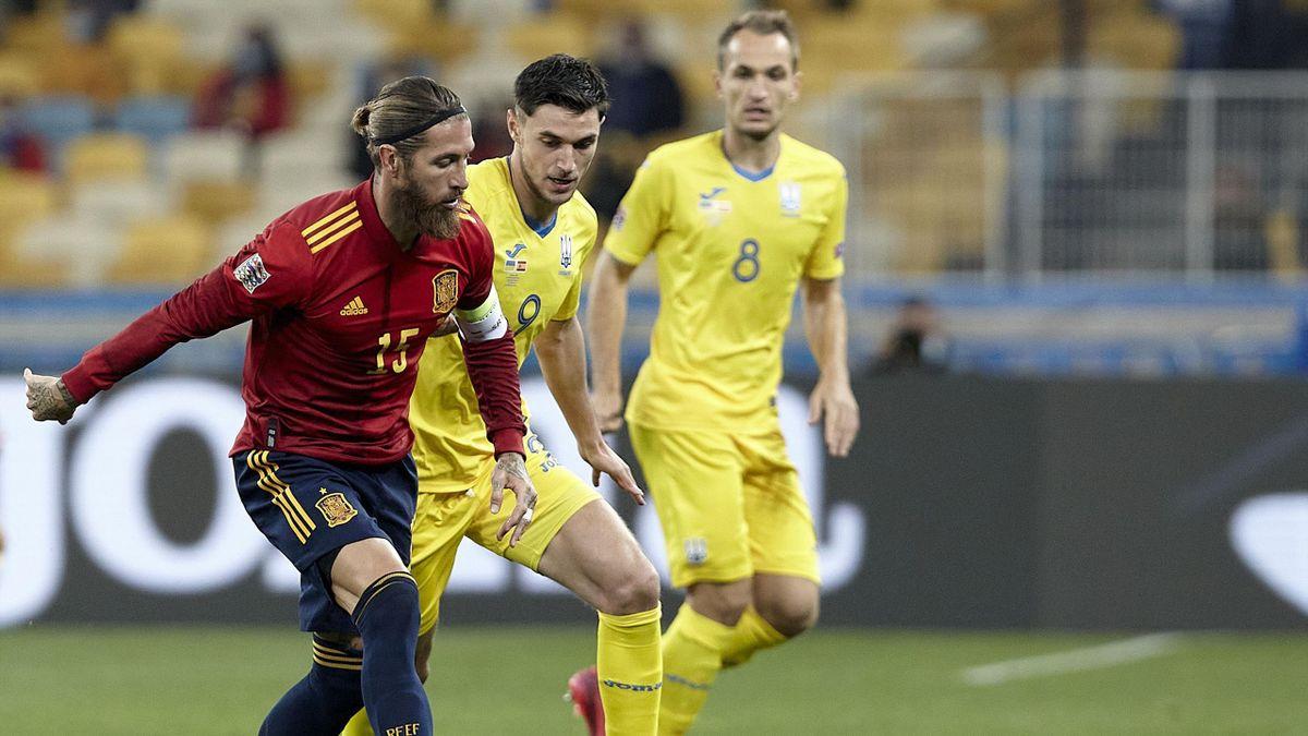 Liga Națiunilor   Ucraina - Spania 1-0