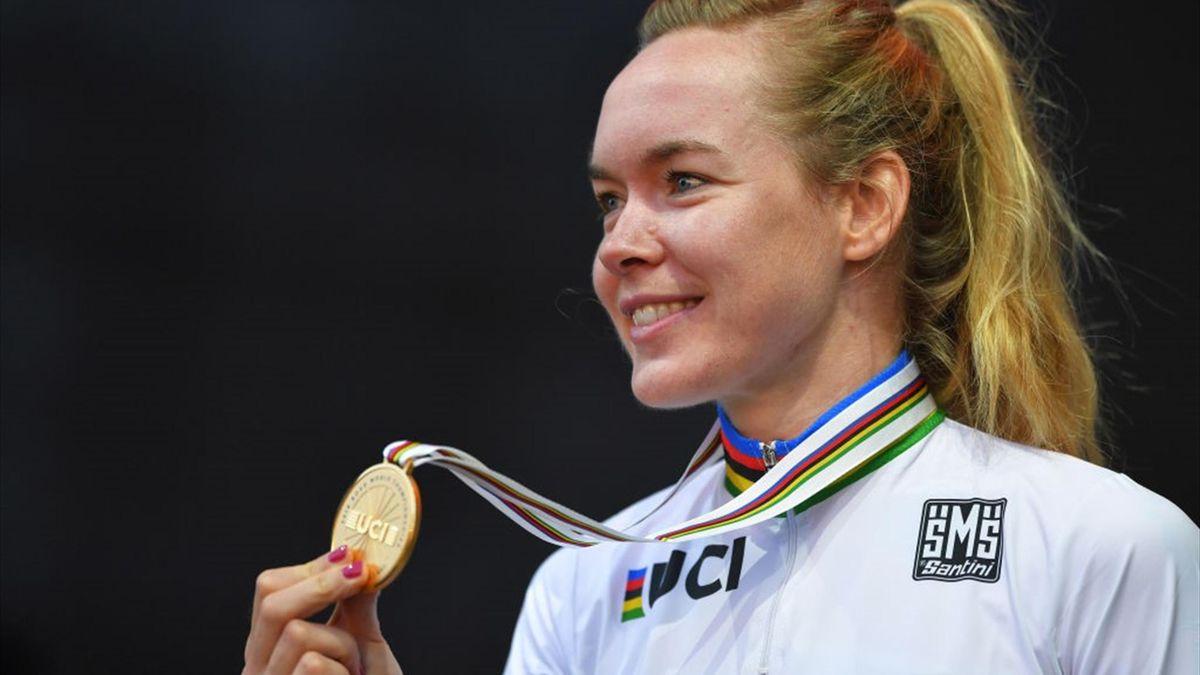 WK Wielrennen: Van der Breggen