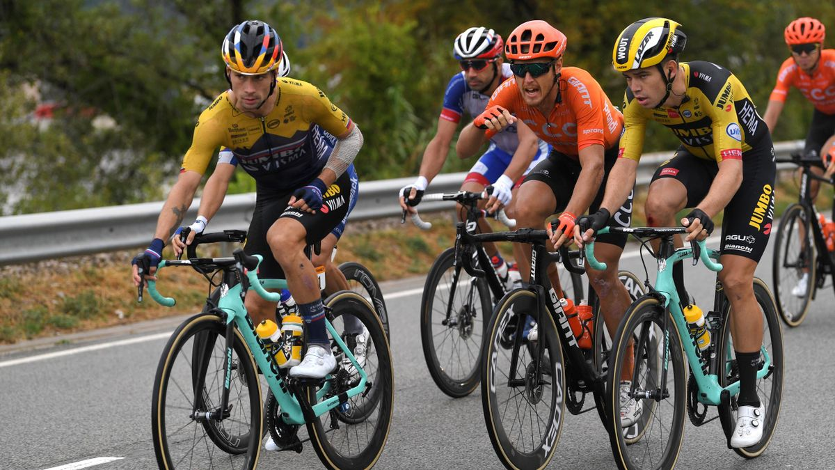 Tour De France Advantage Jumbo Visma As Primoz Roglic Shows Who S The Boss Eurosport