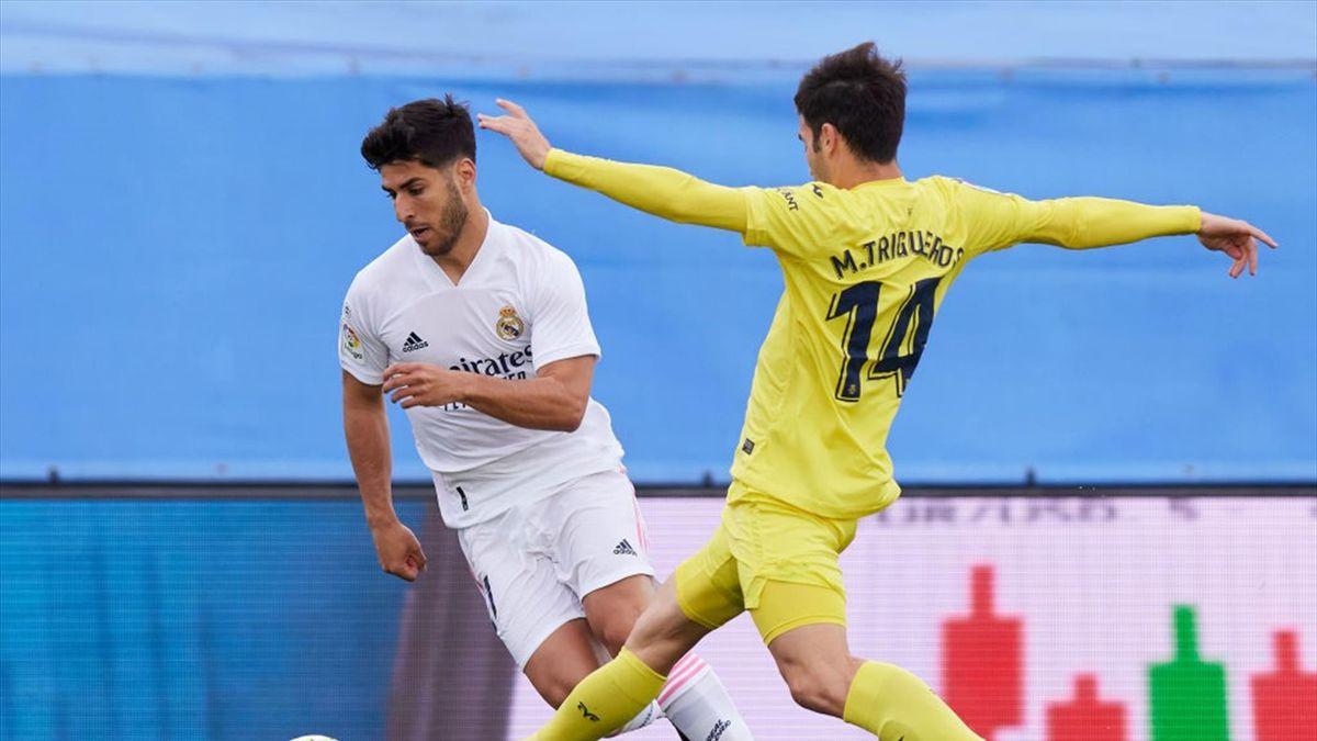 Marco Asensio y Manu Trigueros, Real Madrid-Villarreal