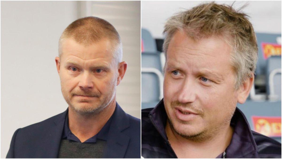 Nils Fisketjønn (NFF) og Frank Lidahl (Ranheim)