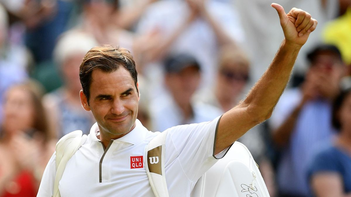 Wimbledon 2019 Roger Federer Sees Off Kei Nishikori Faces Rafael Nadal In Semi Final Eurosport