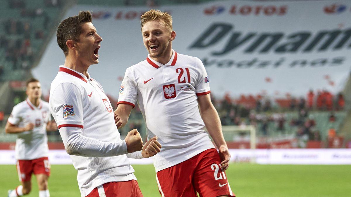 Lewandowski trifft Polen