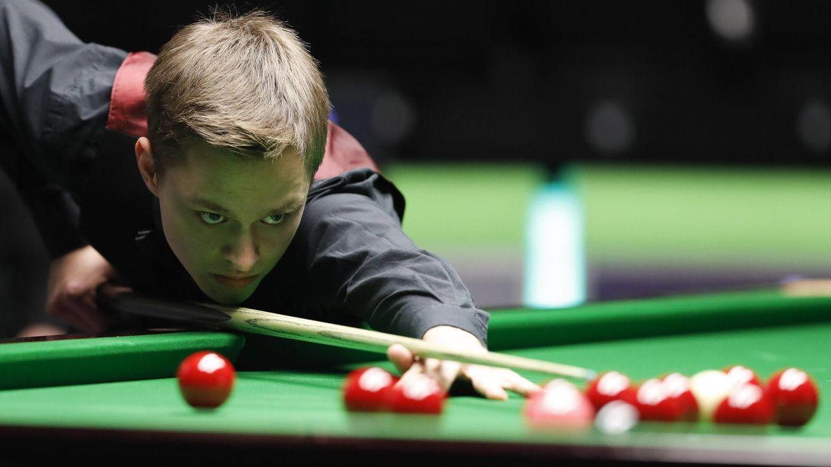 Lukas Kleckers schaltete beim Northern Ireland Open sensationell Mark Selby aus
