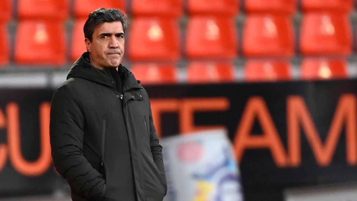 David Guion, l'entraîneur de Reims.
