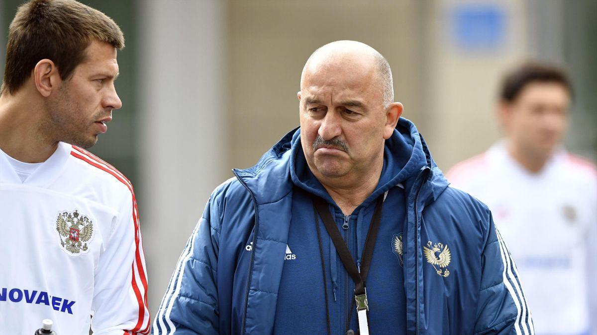 Станислав Черчесов, Федор Смолов, Россия