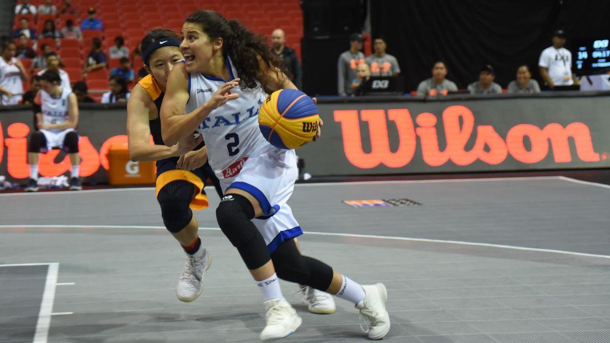 Rae Lin Dalie, Italia 3x3 Basket