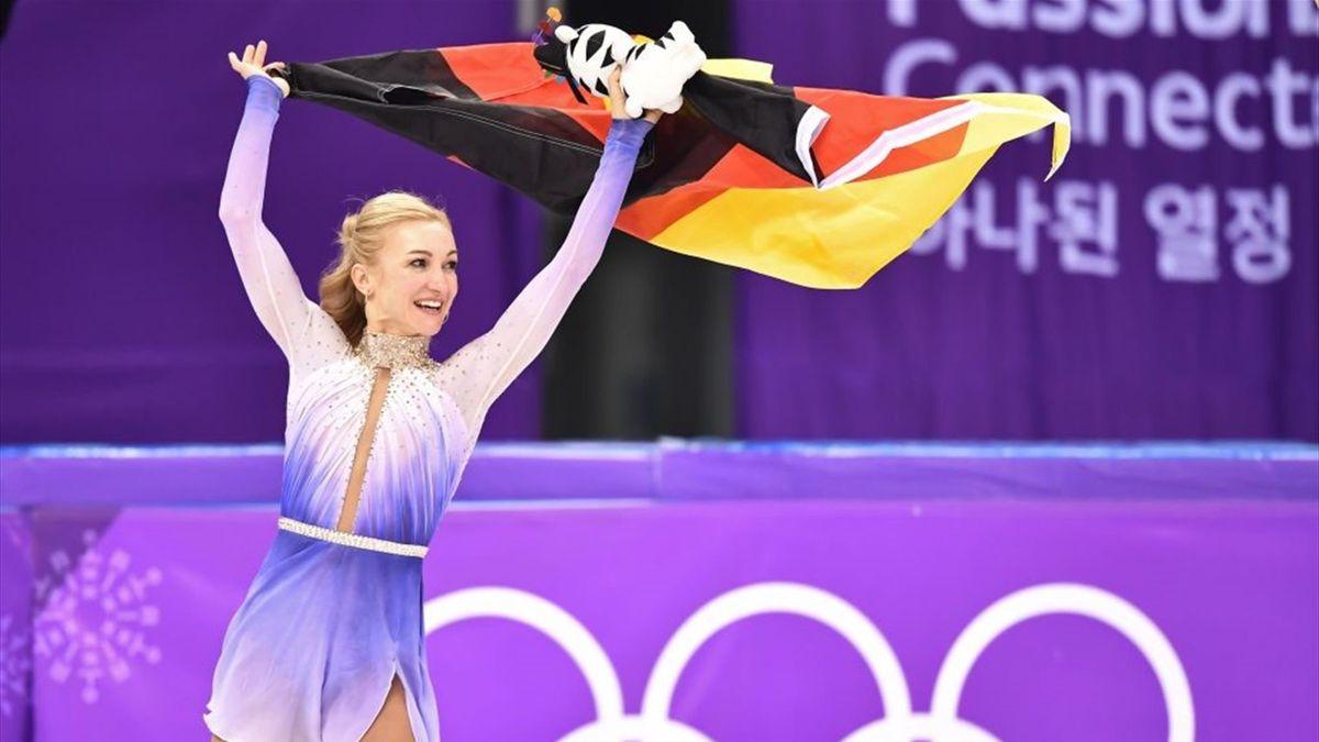 Aljona Savchenko weiß noch nicht, ob sie wieder aufs Eis zurückkehrt