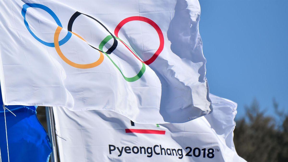 PyeongChang 2018 - Olympische Flagge