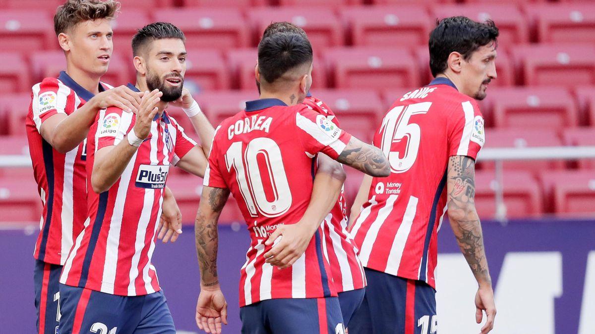 Jubel bei Atlético Madrid