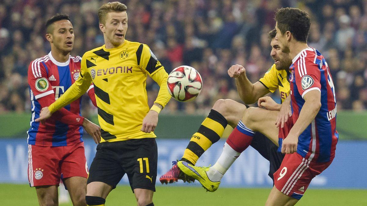 Top-Duell: Der FC Bayern empfängt Borussia Dortmund